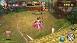 Screenshots of the Age of Wushu Dynasty for Android tablet, phone.