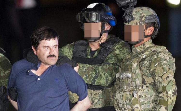 Extraditan a 'El Chapo Guzmán' a Estados Unidos