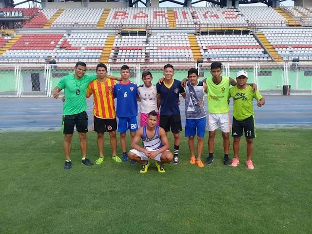 Jugadores del Deportivo Boyacá (Alto Apure) probaron en el Zamora FC de Barinas.