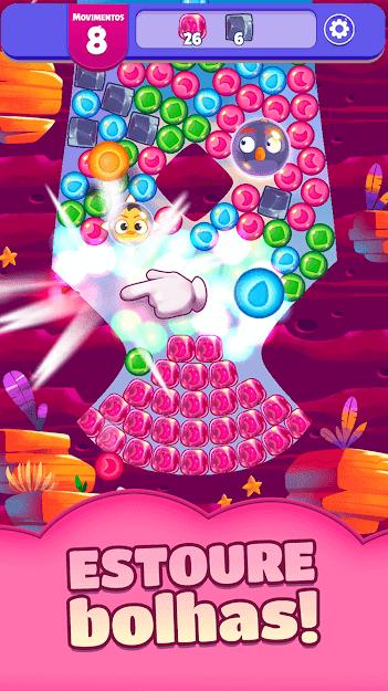Angry Birds Dream Blast v 1.22.1 apk mod DINHEIRO INFINITO