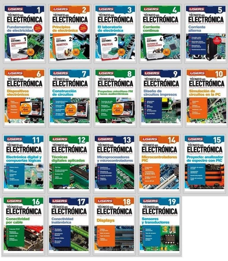 Cursos de Técnico en Electrónica Users [26 PDF]