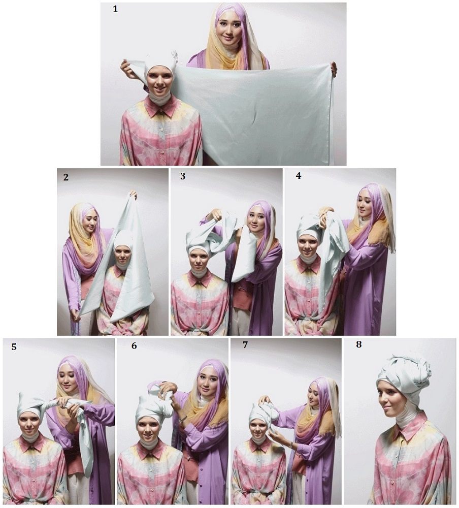kumpulan tutorial hijab ala dian pelangi | tutorial hijab