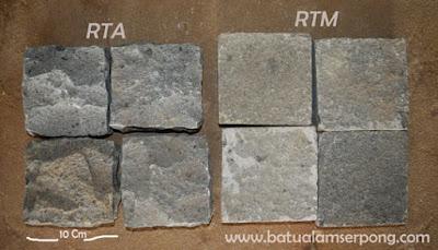 batu kobel atau Cobble stone di jakarta