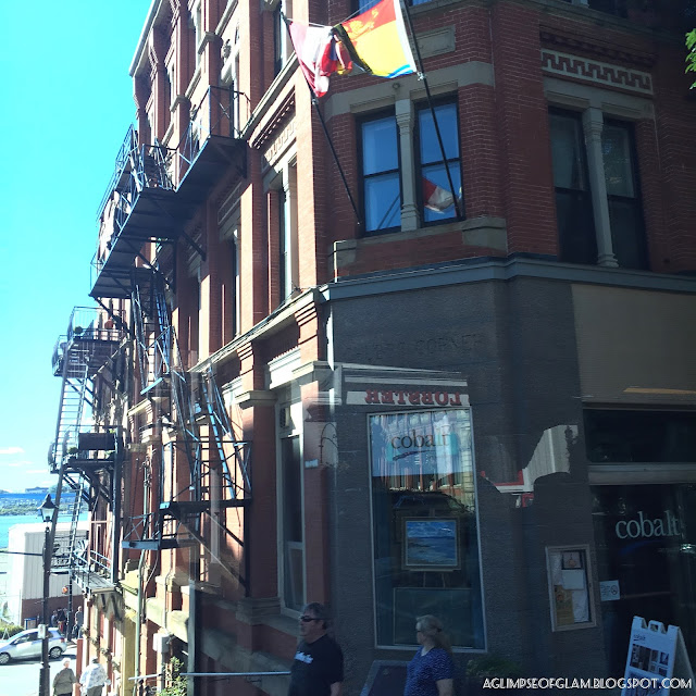 Buildings from Saint John New Brunswick - Andrea Tiffany A Glimpse of Glam