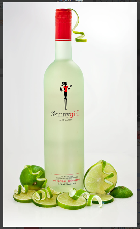 bottle Skinny girl margarita