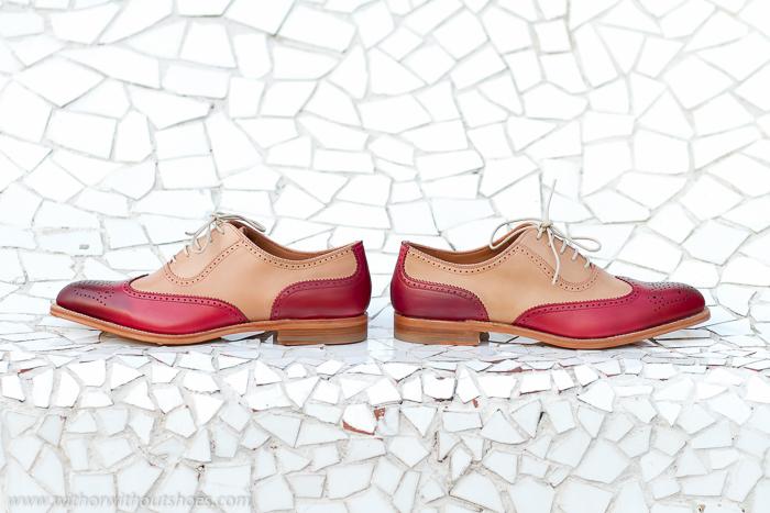 Zapatos Nuevos planos Bluchers con cordones hechos a mano LOTTUSSE Made in Spain