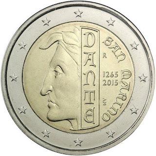 2€ Dante Alighieri 2015 Saint-Marin