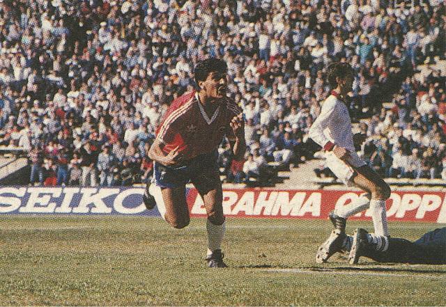 Chile y Venezuela en Clasificatorias a Italia 1990, 27 de agosto de 1989