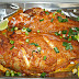 Hot and Spicy Baked Snapper - Sierra Leonean Style