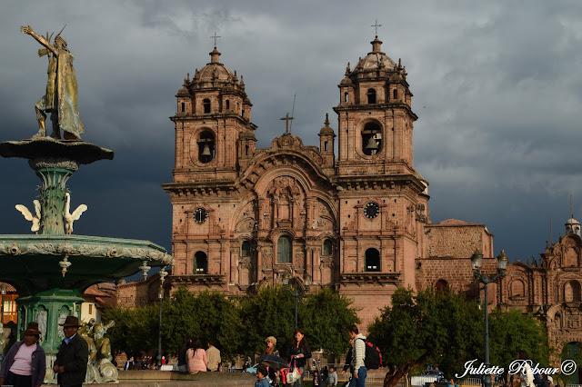 Cathédrale de Notre-Dame-de-l'Assomption à Cusco