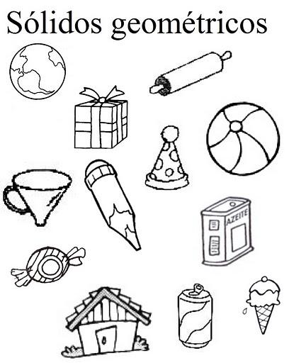 Geometria Para Colorear Cuerpos Geometricos E Imprimir