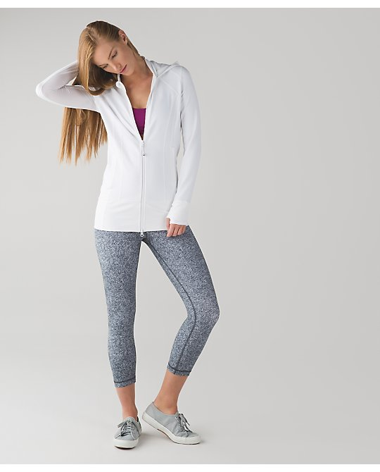 lululemon white-daily-practice-jacket