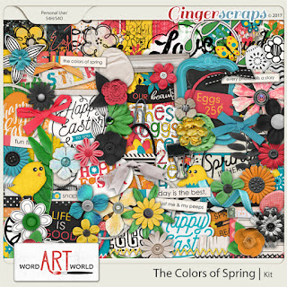 NEW March Newsletter Freebie and Word Art Sale!