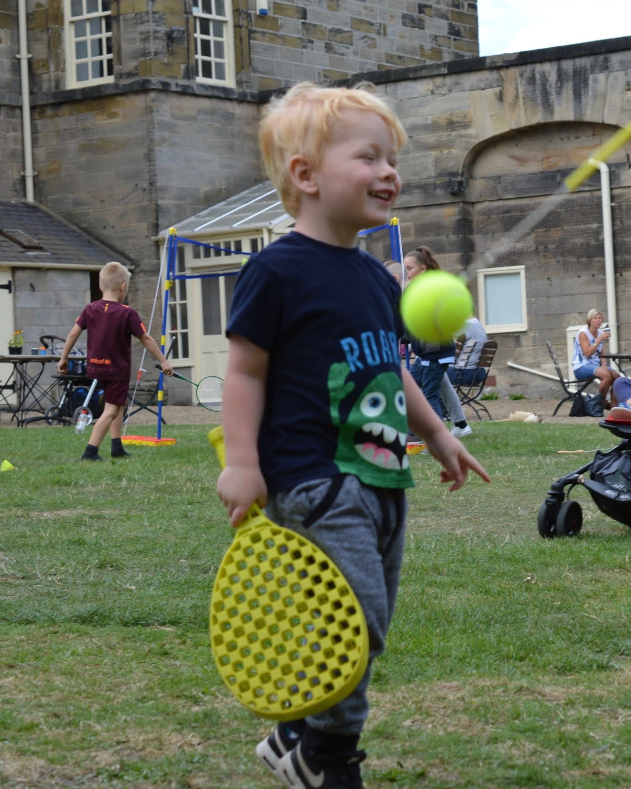 10 Reasons to Visit Seaton Delaval Hall  - swingball