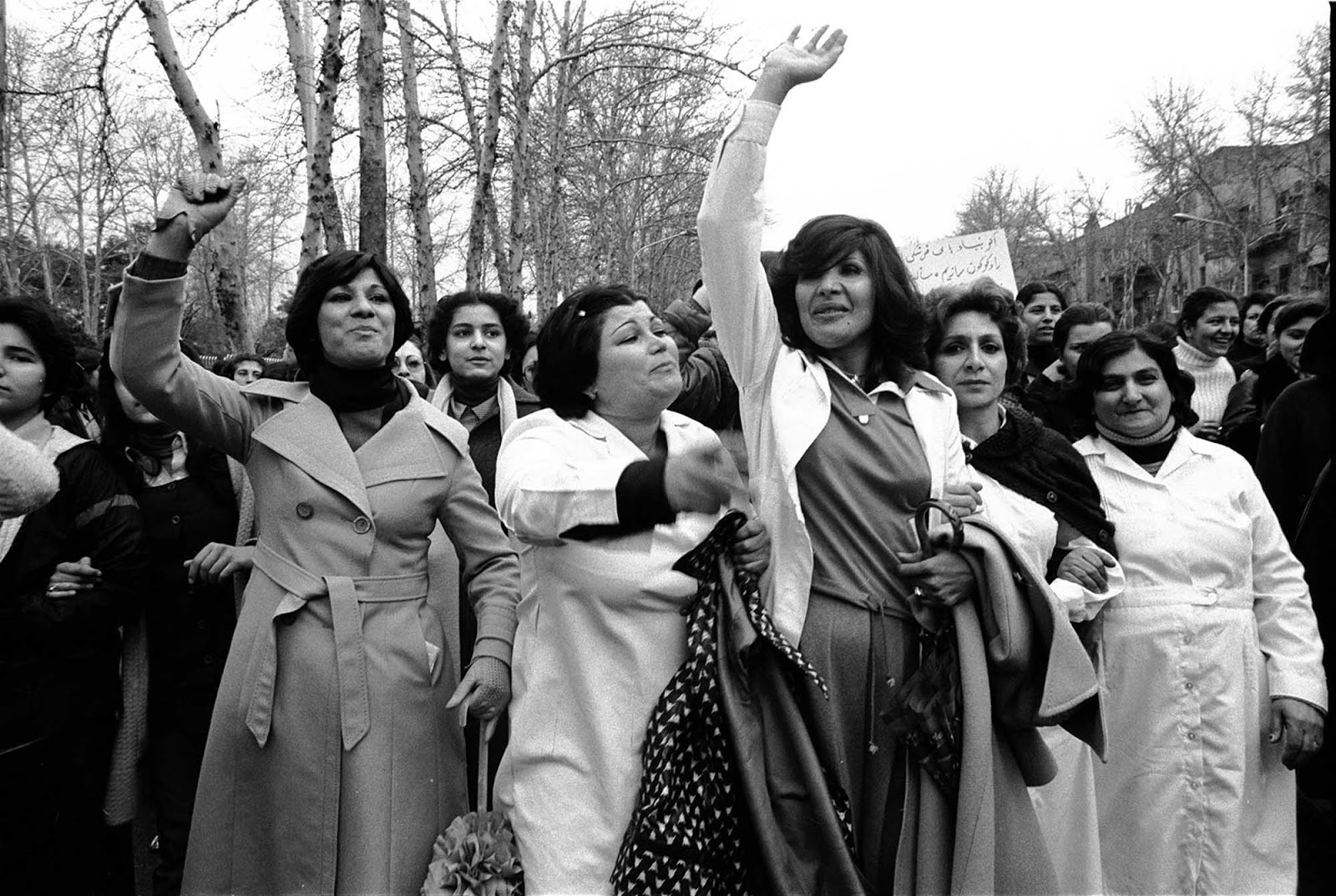 "At the time, Golestan recalls, Iranian people were very ""politically charged"" and believed change could be effected by demonstrating in the streets."