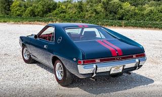 1968 AMC AMX Sports Coupe Rear Left