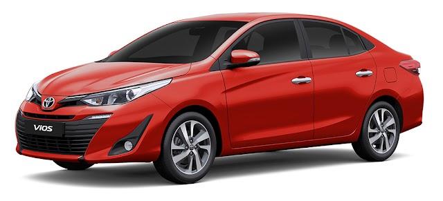 Toyota VIOS Pricelist - As of January 2019 (Luzon - Philippines)
