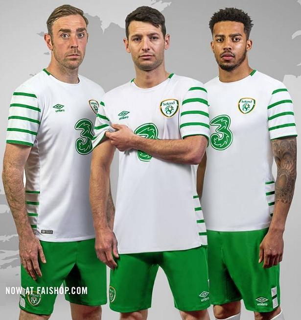 Umbro lança nova camisa reserva da Irlanda - Show de Camisas 583c8a507bf63