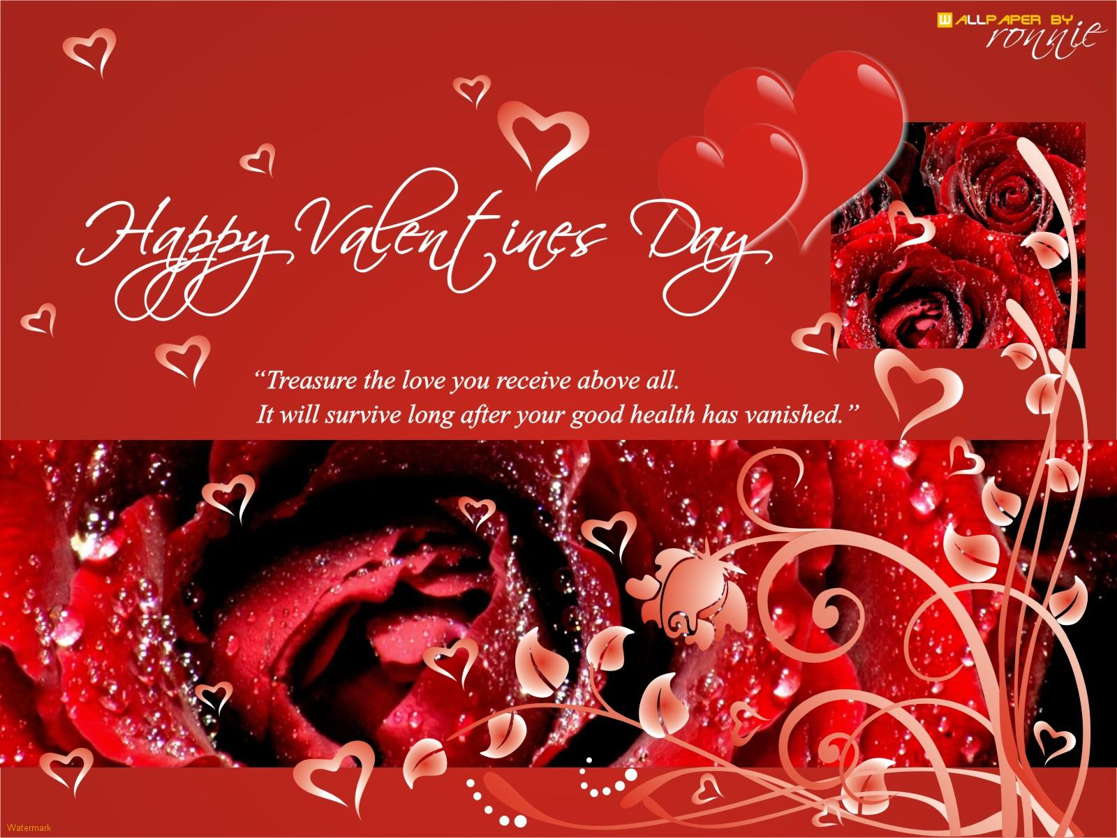 Happy Valentines Day.6 Free Valentines Greeting Cards With Music 2014