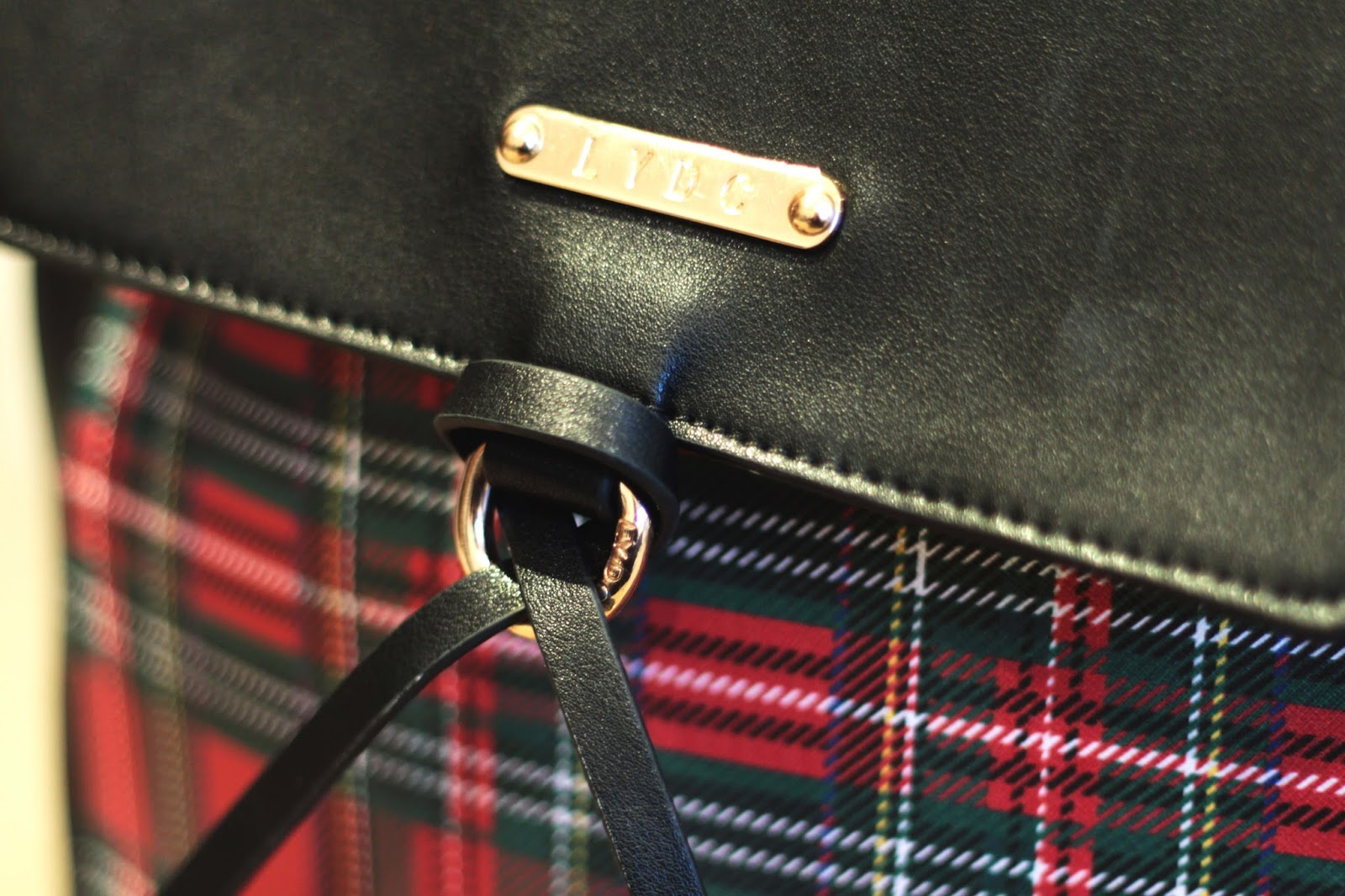 LYDC tartan backpack review