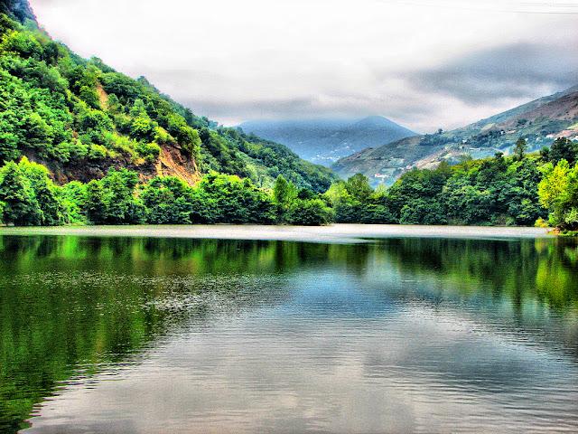Η περίφημη λίμνη Σέρρα, στα Πλάτανα Τραπεζούντας (Video)