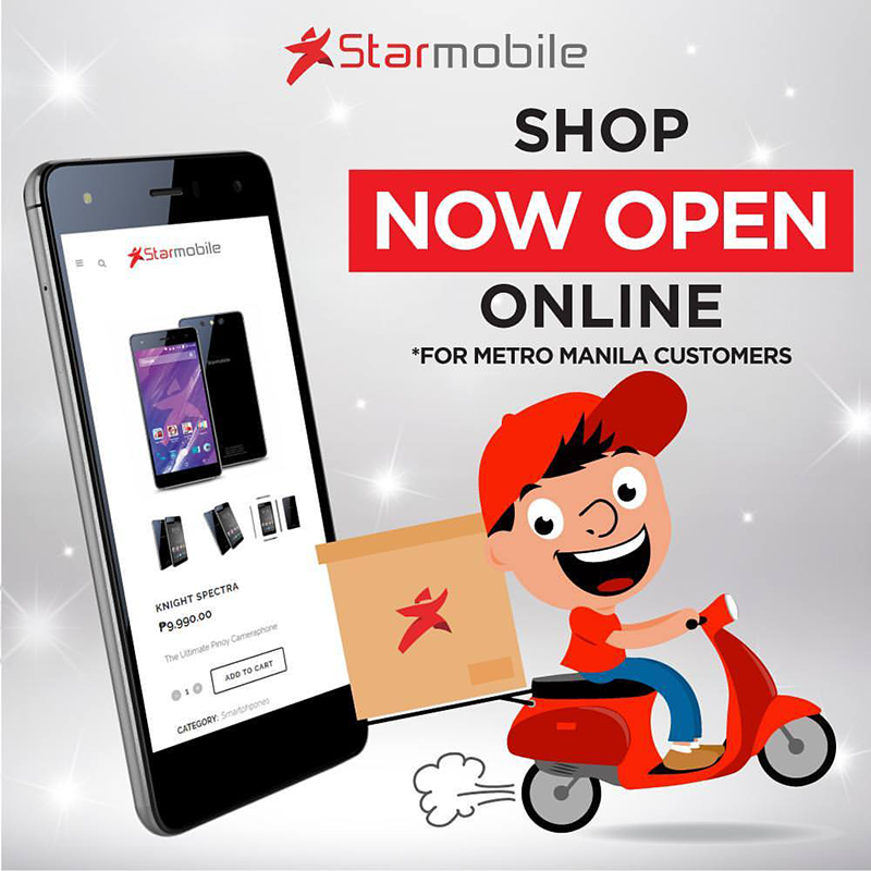Starmobile Online Store Now Live!