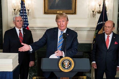 Trump asegura que debe continuar la presión contra Norcorea