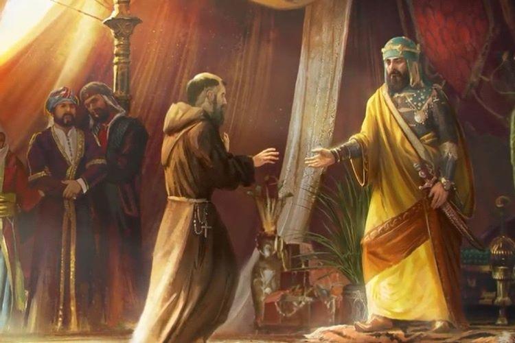 Haçlı kralı Monfer Conrad'ı öldürdüler.