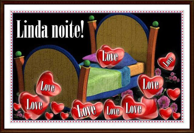 Cartões postais de boa noite, meu amor