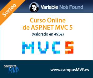 Sorteo de Curso de ASP.NET MVC 5 en CampusMVP