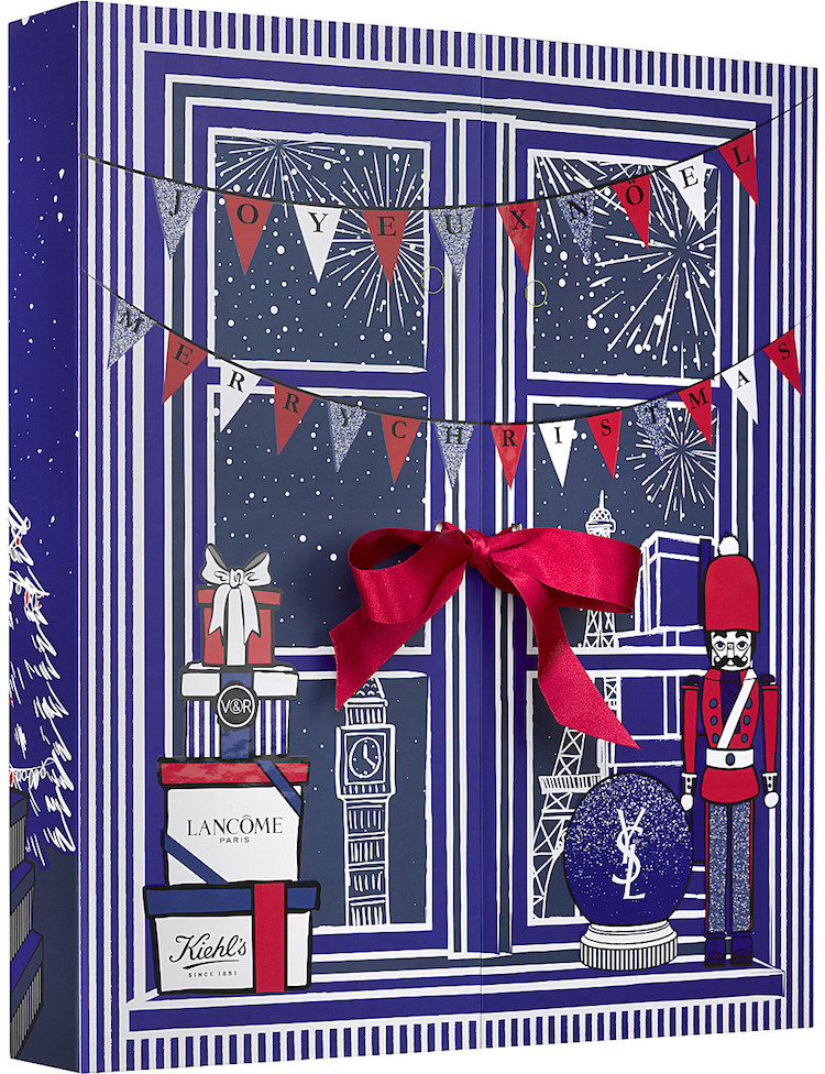 contents and spoilers of the Selfridges Luxury 24-Day Beauty Advent Calendar for 2017.