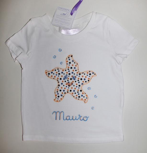camiseta personalizada estrella de mar