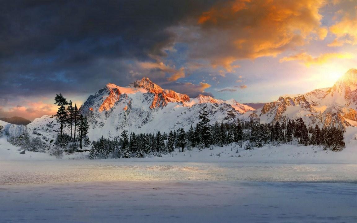 Montaña Nevada Hd: #z7i: Montañas Nevadas