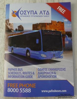 Rozkład jazdy - Pafos