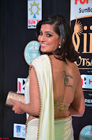 Varalakshmi in Cream Saree Sleeveless Backless Deep Neck Choli at IIFA Utsavam Awards March 2017 014.JPG