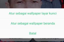 Cara Ganti Wallpaper Hp OPPO F9 - Layar Kunci / Home Screen
