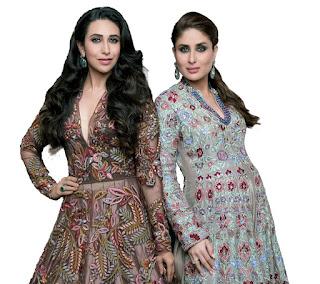 WOW sexy gorgeous stunning Karishma Kaoor and Pregnant Kareena Kapoor Fashion Model for HELLO India Magazine October 2016