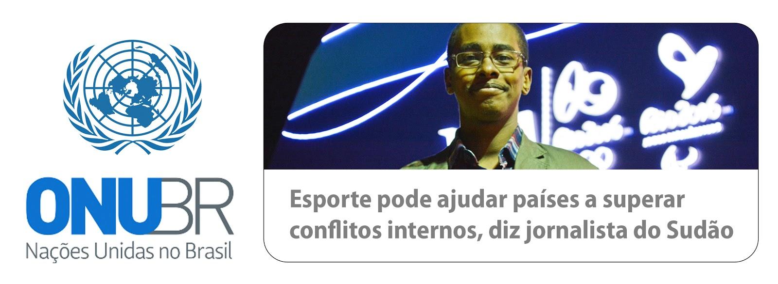 Ambassador Saeed Interview on UN Brazil website