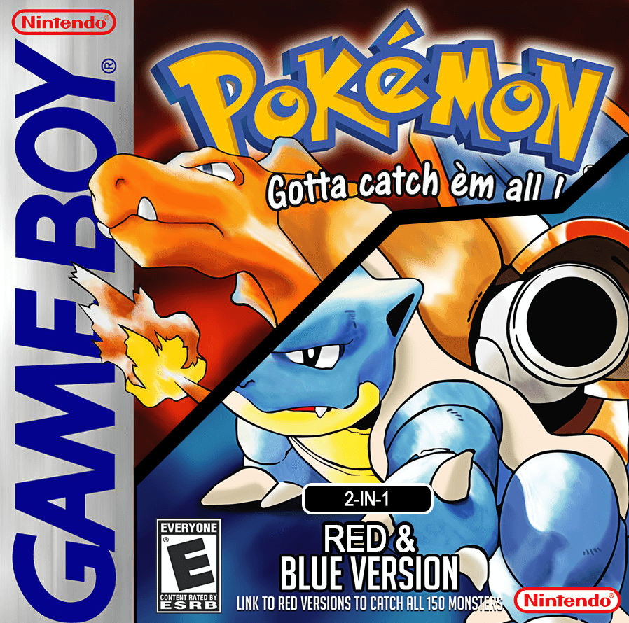 Download ROMs: Pokemon Red-Blue 2-in-1 (Unl) Gameboy Color Rom