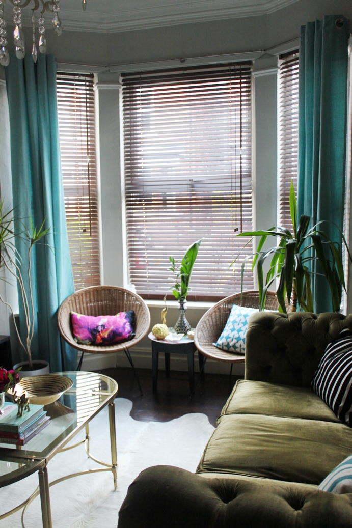 Bay Window Curtain Ideas Living Room Virtual Planner Omg! I've Got Curtains! - Swoon Worthy
