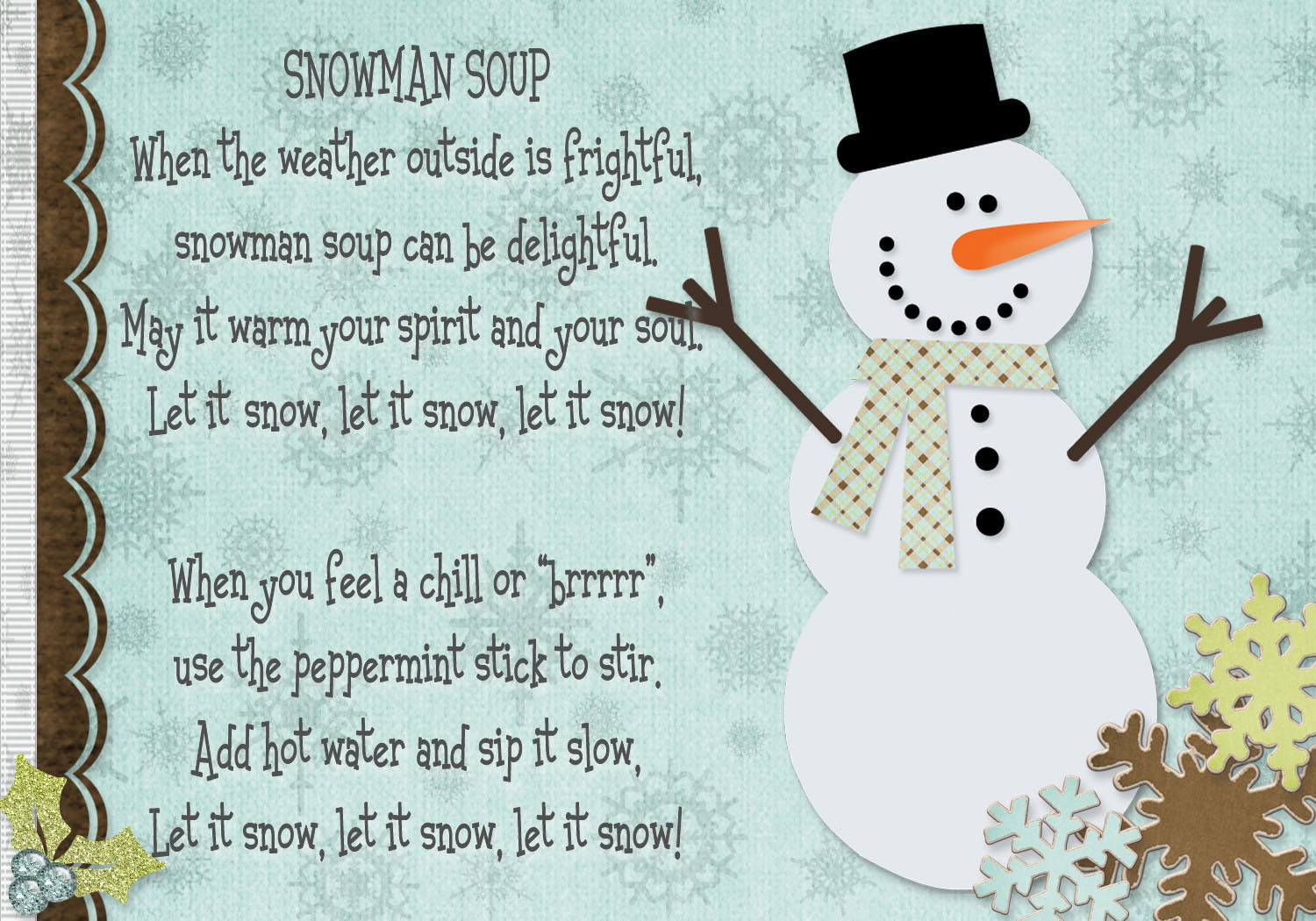 It's just an image of Sizzling Free Snowman Soup Labels