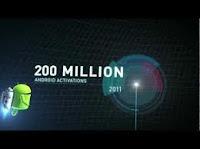 200 millions appareils Android activé  dans plus de 137 pays et régions