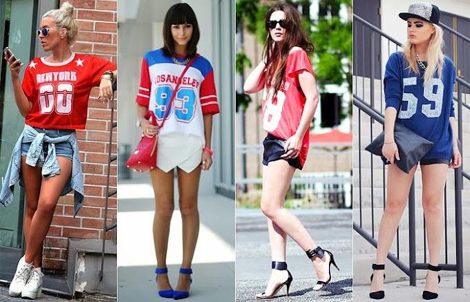 #Moda: Inspirações camiseta esportiva