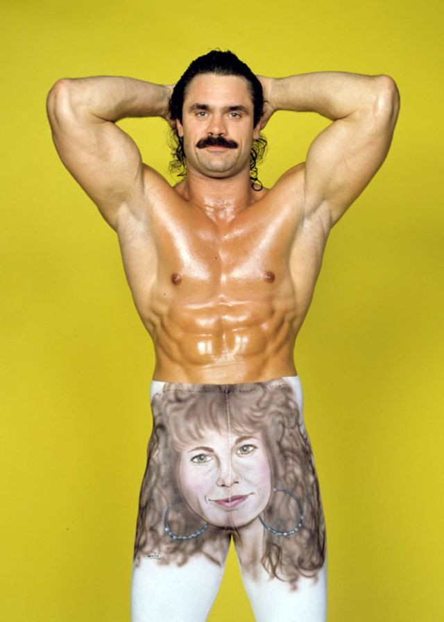 "10 Fun and Creative Tights Worn by Professional Wrestler ""Ravishing"" Rick Rude"