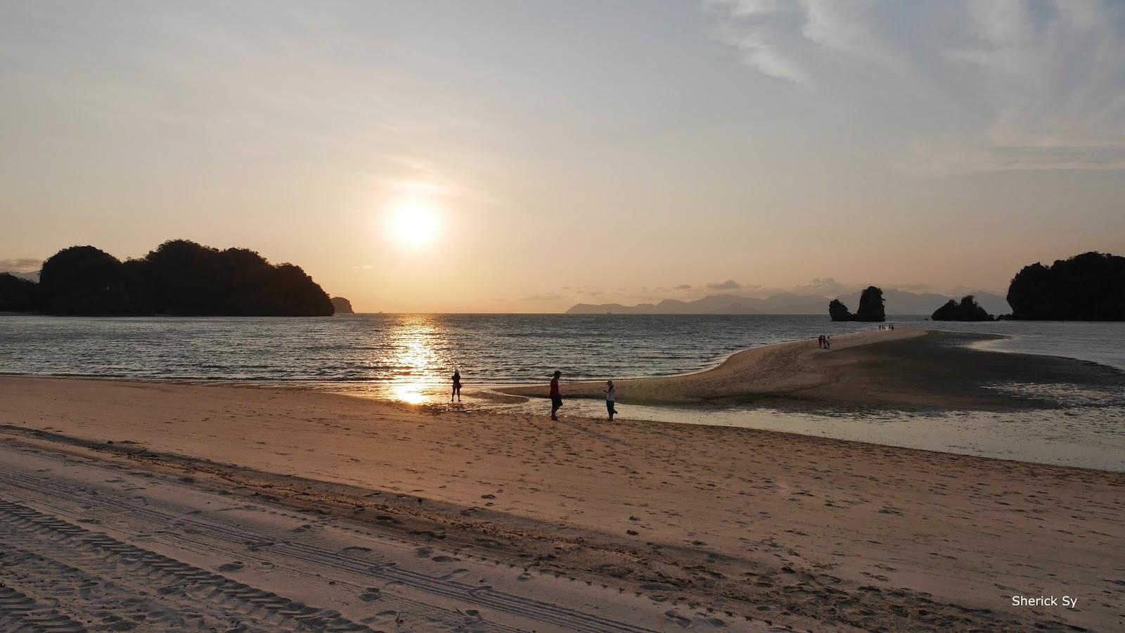 Sunset at Tanjung Rhu Resort, Langkawi, Malaysia