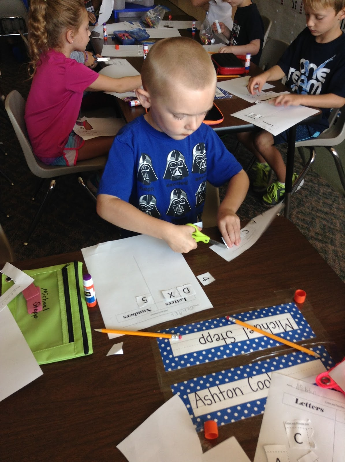 Pete The Cat Scavenger Hunt Letters And Numbers And