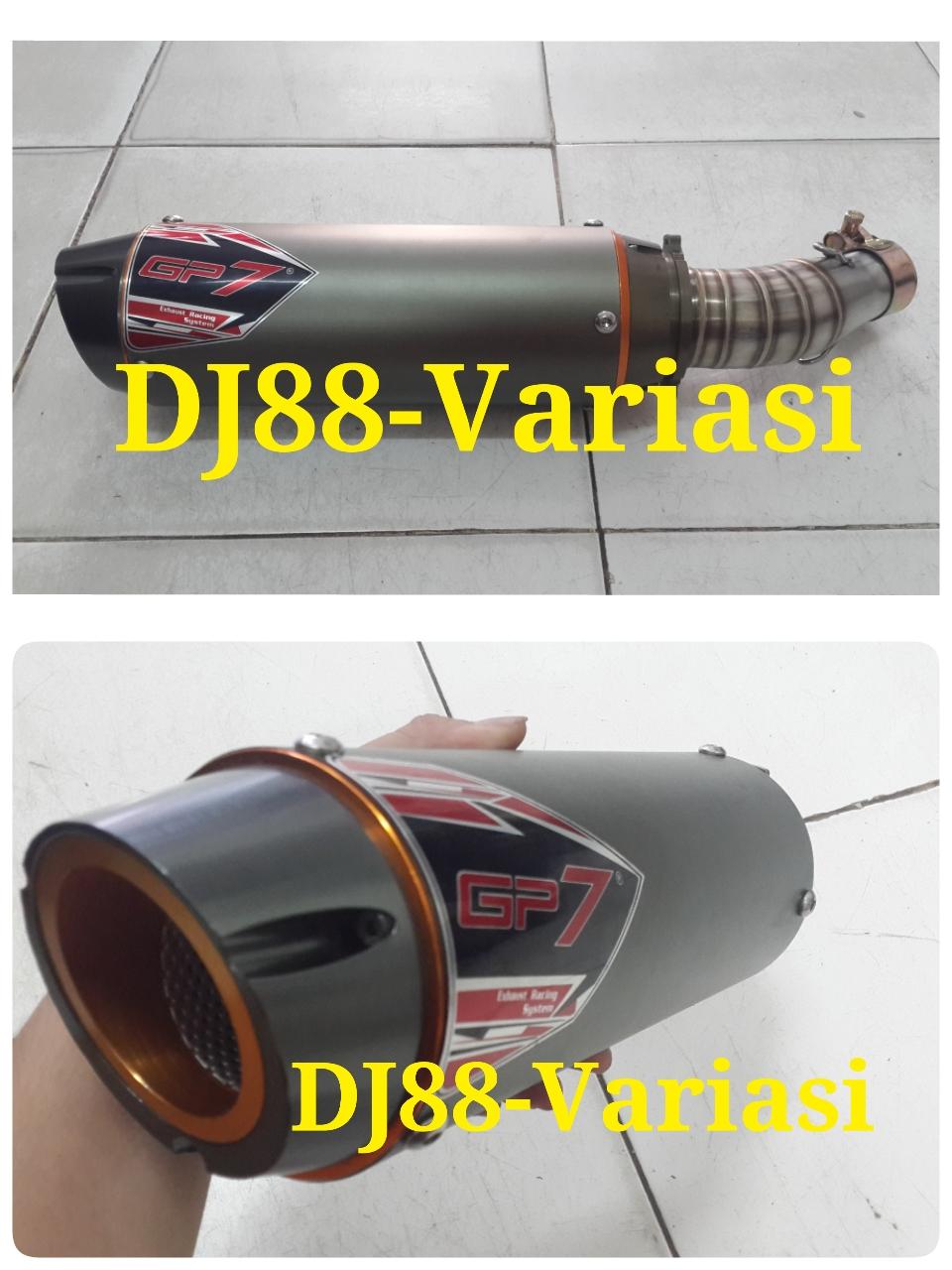 Dj88 Variasi Toko Aksesories Terlengkap Dan Terpercaya Se Indonesia Knalpot Prospeed Black Series Ninja 250 Rr Mono Z250sl Fullsystem Slip On Gp7 Untuk Kawasaki Carbu Fi Z250 Racing Cnc Ngebass Bulat Gahar