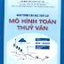 Giáo trình cao học mô hình toán thủy văn - PGS.TS. Lê Văn Nghinh