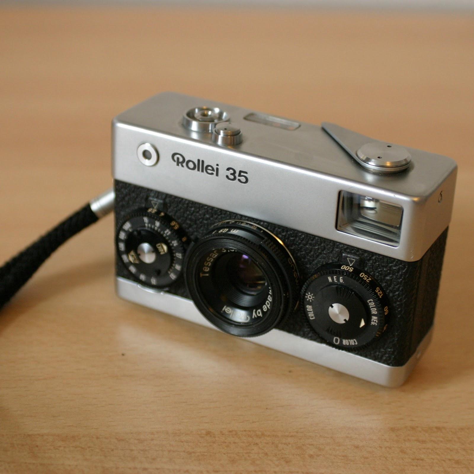 RRT877: Rollei 35 - Analog Kamera kurz Review