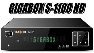 GIGABOX S1100 NOVA ATUALIZAÇÃO MODIFICADA V1.83 - 04/02/2018